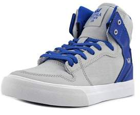 Supra Vaider Round Toe Synthetic Tennis Shoe.