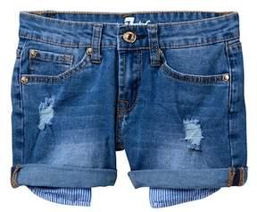 7 For All Mankind 2\ Roll Cuff Shorts (Big Girls)