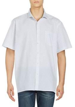 Black & Brown Black Brown Microdot Cotton Button-Down Shirt