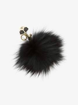 MICHAEL Michael Kors Fur Key Chain with Dog Charm