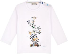Paul Smith Poppet Cars and Bicycles T-Shirt
