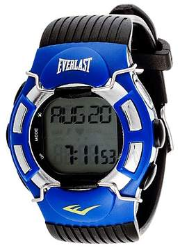 Everlast Finger Touch Heart Rate Monitor Watch Blue