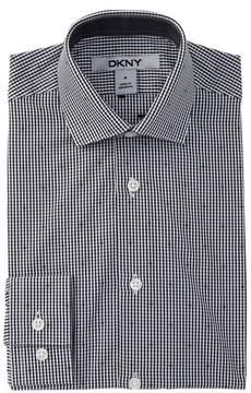 DKNY Check Dress Shirt (Big Boys)
