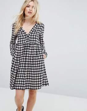 Max & Co. Max&Co Dedica Gingham Shirt Dress