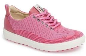 Ecco Casual Hybrid Knit Golf Sneaker