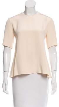 Brock Collection Silk Short Sleeve Top