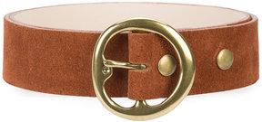 B-Low the Belt round buckle belt