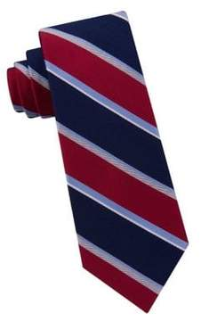 Lord & Taylor Boy's City Stripe Silk Tie