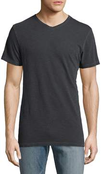 Alternative Apparel Men's Local Only V-Neck Cotton Henley