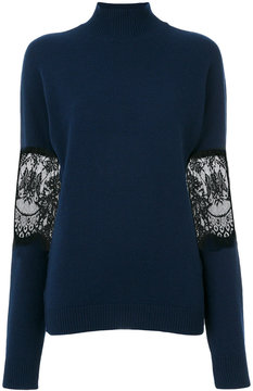 Each X Other lace turtle neck sweater