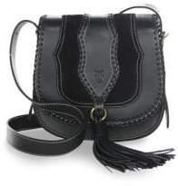 Frye Whipstitch Leather Shoulder Bag