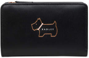 Radley London Heritage Dog Outline Medium Zip-Top Wallet