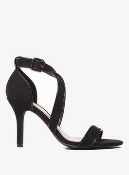 Dorothy Perkins Wide Fit Black 'Sandrine' Sandals