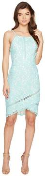 Adelyn Rae Sabina Woven Lace Sheath Dress Women's Dress