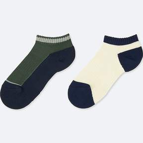 Uniqlo Boy's Short Socks (2 Pairs)