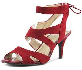 Bandolino Misilana Open Toe Canvas Sandals.