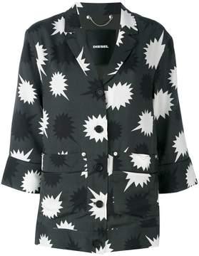 Diesel star detail blouse