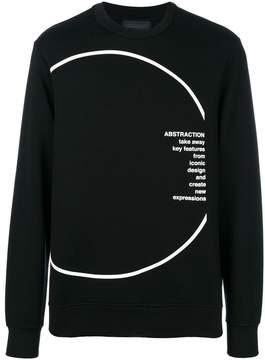 Diesel Black Gold printed sweatshirt