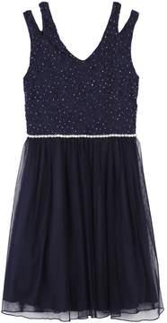 Speechless Girls 7-16 & Plus Size Glitter Lace Tulle Dress