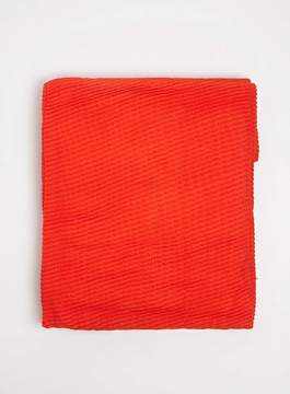 Dorothy Perkins Red Pleated Scarf