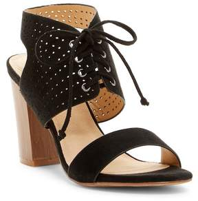 Restricted Carolyn Perforated Block Heel Sandal
