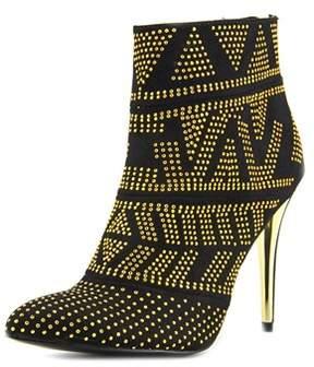 Thalia Sodi Alejandra Pointed Toe Canvas Ankle Boot.