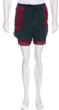 Kolor Mesh Layered Shorts