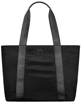 Tory Burch Quinn Large Tote - BLACK - STYLE