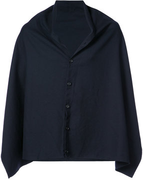 Engineered Garments buttoned shawl jacket