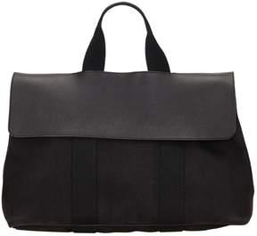Hermes Valparaiso cloth handbag - BLACK - STYLE