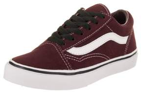 Vans Kids Old Skool (Suede) Port Royale/Black Skate Shoe 12 Kids US