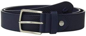 Lacoste Chantaco Leather Belt Men's Belts