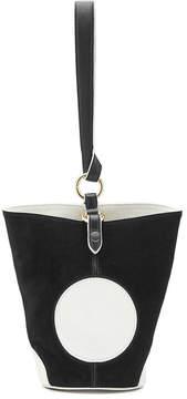 Diane von Furstenberg Suede and Leather Bag