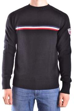 Rossignol Men's Black Wool Sweater.