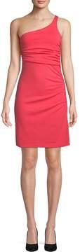 Susana Monaco Women's Ruched One-Shoulder Dress