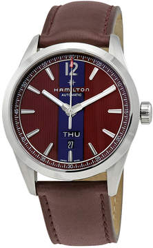 Hamilton Broadway Automatic Brown Dial Men's Watch