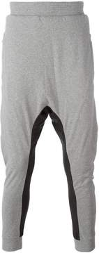 11 By Boris Bidjan Saberi drop crotch track pants