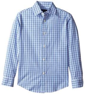 Tommy Hilfiger Alternating Gingham Shirt Boy's Clothing