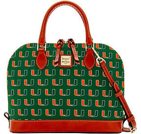 Dooney & Bourke NCAA University of Miami ZipZip Crossbody - ONE COLOR - STYLE