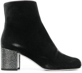 Rene Caovilla jewelled heel boots