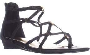 Thalia Sodi Thalia Ts35 Pamella Flat Gladiator Sandals