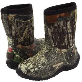 Bogs Classic Mid No Handle Boys Shoes