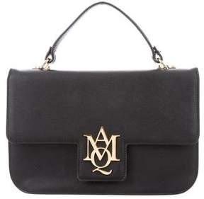 Alexander McQueen Grained Leather Satchel