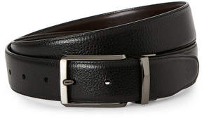 Perry Ellis Reversible Bonded Leather Belt