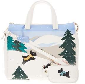 Radley London London At Home in the Snow Large Satchel Handbag