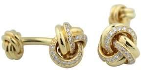 Tiffany & Co. & Co.18K Yellow Gold & 2ct Diamond Cufflinks