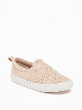 Old Navy Perforated Slip-Ons for Toddler Girls