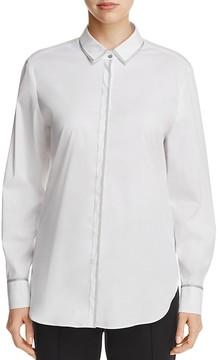 Basler Metallic-Trimmed Shirt