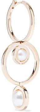 Delfina Delettrez 18-karat Gold Pearl Earring