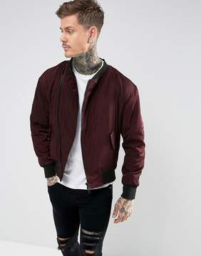 Religion Asymmetric Bomber With Fleece Lining